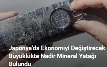 Nadir Bir Mineral Element Yatağı