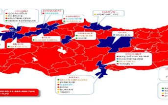 Türkiye Çelik Haritası