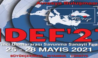 IDEF'21 Uluslararası Savunma Sanayi Fuarı